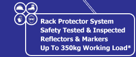 Our Glass Racks are fitted as standard with the Rack Protector System. They are Safety Tested and Inspected. Reflectors and Markers are fitted. Plus a SWL of 350kgs is available
